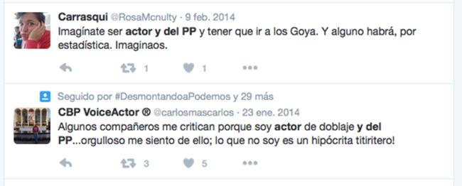 Actor del PP