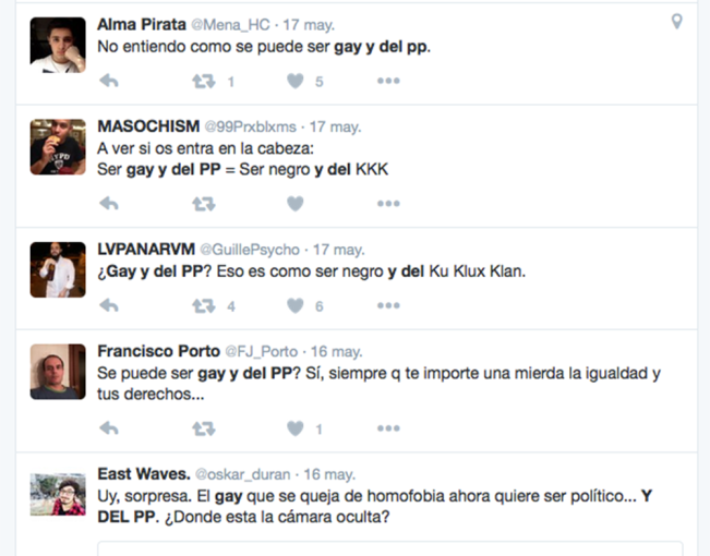 Gay y del PP